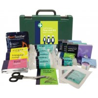Small, Medium or Large British Standard-Compliant Economy First Aid Kits