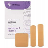Pink Washproof Adhesive Plasters