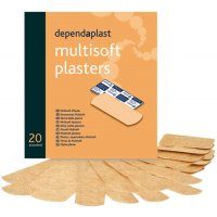 Low-Allergy Dependaplast Multisoft Plasters