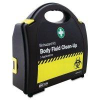 Body Fluid Spill Kit in Carry Case