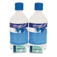 Handy HSE Compliant Eyewash Kit Refill