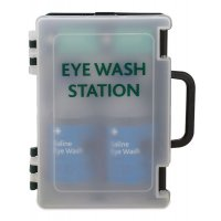 Stocked Portable Eyewash Cabinet
