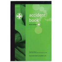 A4-Sized Workplace Accident Reporting Book