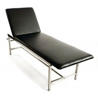 Adjustable Synthetic Leather First Aid Room Couch