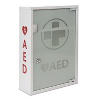 Wall-Mounted Lockable AED Defibrillator with Alarm