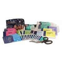 Complete refills for vehicle first aid kits (British Standard compliant)