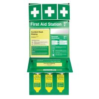 Combined First Aid Eyewash Stations - Unstocked