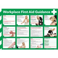 Comprehensive first aid guidance with photographic illustrations