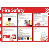 Fire Safety Advisory Poster