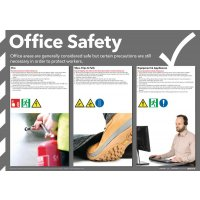 Office Health & Safety Information Poster