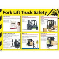 Informative Forklift Truck Safety Poster