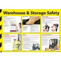 A1/A2 Warehouse & Storage Safety Poster