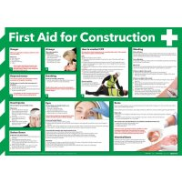 'First Aid for Construction' Guidance Poster