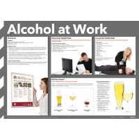 Alcohol At Work Health And Safety Overview Poster