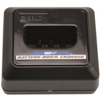 Brady BMP41 printer quickcharger for fast power-ups