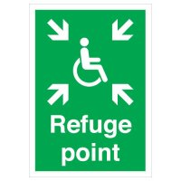 Essential Workplace Refuse Point Signs