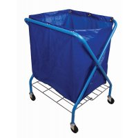 Useful Folding Waste Cart With Bag