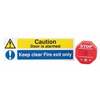 Fire Door Exit Stopper Kit