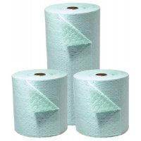 Cost-effective sorbent rolls