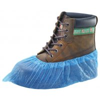 Blue Disposable Overshoes