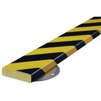 Polyurethane/Steel Flat Surface Wall Impact Protectors