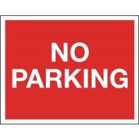 No Parking - Class 1 Reflective Sign