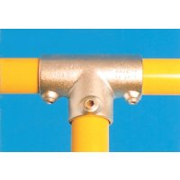 Modular Barrier - Long Tee Galvanised Clamp