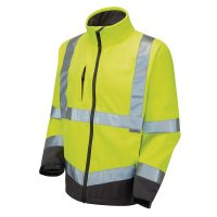 High Visibility Two-Tone Softshell Jacket