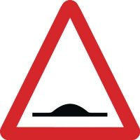 Traffic Signs - Road Humps Ahead