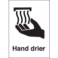 Hand Drier Signs