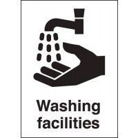 Washing Facilities Signs