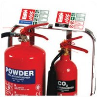 Deluxe Photoluminescent Fire Extinguisher Identification Signs