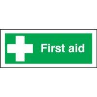First Aid Premium Aluminium Signs