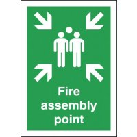 Fire Assembly Point Polycarbonate Signs