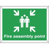Construction Signs - Fire Assembly Point