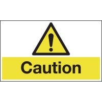 Anti-slip laminated cautionary floor signs