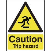 Essential Workplace Caution Trip Hazard Signs