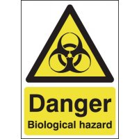 Danger Biological Hazard Signs