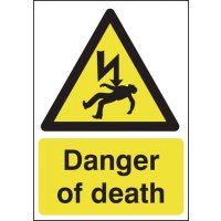 Vital danger of death warning signs