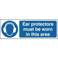 Ear Protectors Must Be Worn In This Area Window Fix Signs