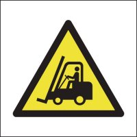 Highly Noticeable Forklift Truck (Symbol) Signs