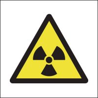 Radiation symbols 25 x 25 mm