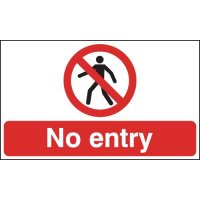 Floor Signs – No Entry