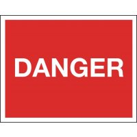 Danger - Class 1 Reflective Sign