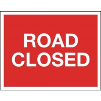 Road Closed - Class 1 Reflective Sign