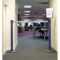 Seton Economy Barrier Kit with Sign Holder