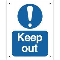 Vandal-Resistant Mandatory Safety Signs