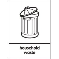 Household Waste Signs