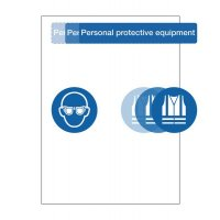 Create Your Own PPE Point of Need Sign Kit