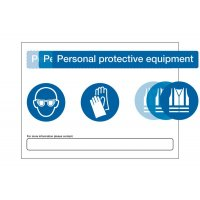 PPE At Point of Need' Customisable Safety Signs